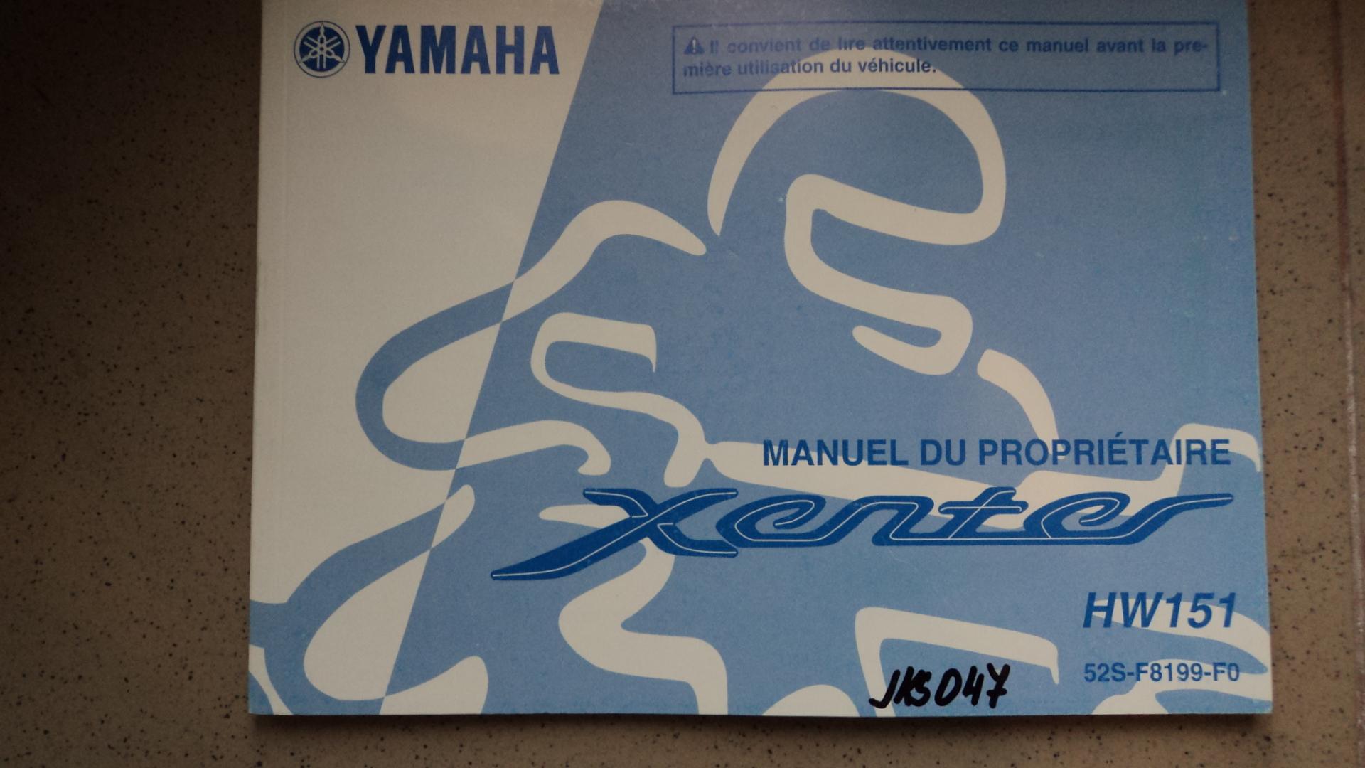 Manu U00e1l Yamaha Xenter 125    150