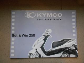 Manuál Kymco Bet and Win 250