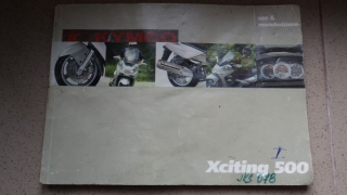 Manuál Kymco X-Citing 500 I. model
